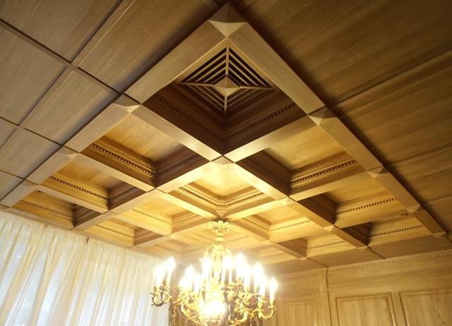 Кессонные потолки в краснодаре цена